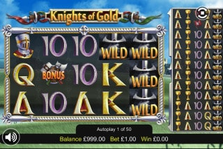Knights Of Gold Mobile Slot Wild Reels