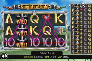 Knights Of Gold Mobile Slot Win