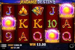 Madame Destiny Slot Scatters