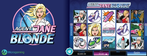 Original Agent Jane Blonde Slot Game
