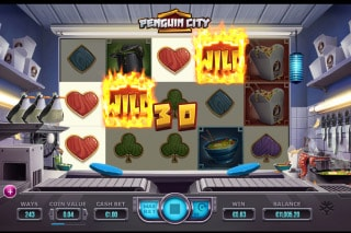 Penguin City Mobile Slot Bonus Game