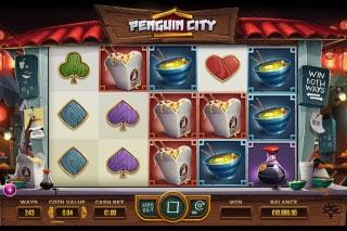 Penguin City Mobile Slot Game