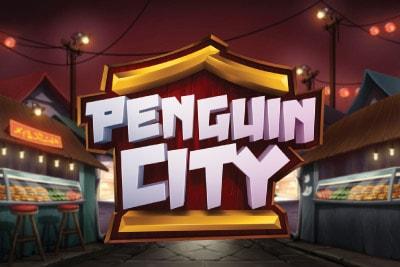 Penguin City Mobile Slot Logo