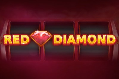 Red Diamond Mobile Slot Logo