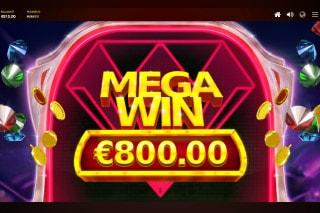 Red Diamond Mobile Slot Mega Win