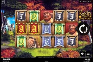 Robin of Sherwood Mobile Slot Game