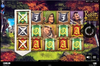 Robin of Sherwood Mobile Slot Feature