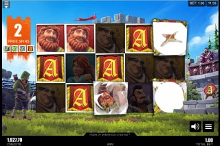Robin of Sherwood Mobile Slot Free Spins