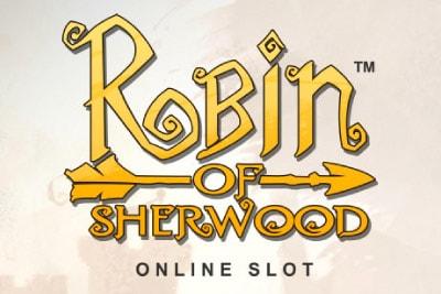 Robin of Sherwood Mobile Slot Logo