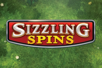 Sizzling Spins Mobile Slot Logo