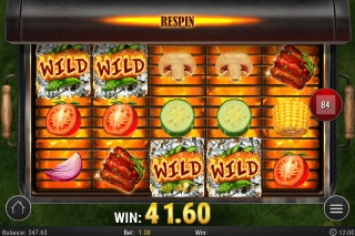 Sizzling Spins Mobile Slot Wild Respins