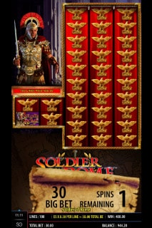 Soldier of Rome Mobile Slot Free Spins