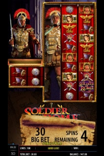 Soldier of Rome Mobile Slot Big Bet
