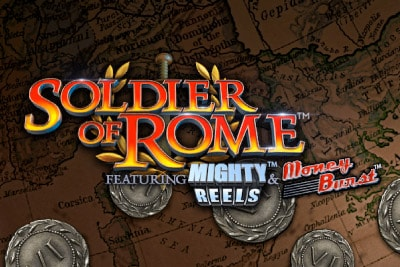 Soldier of Rome Mobile Slot Logo
