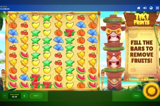 Tiki Fruits Mobile Slot Game