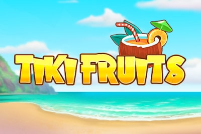 Tiki Fruits Mobile Slot Logo
