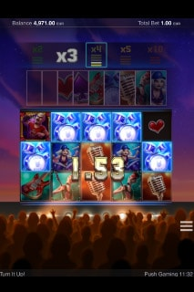 Turn It Up Slot Multipliers