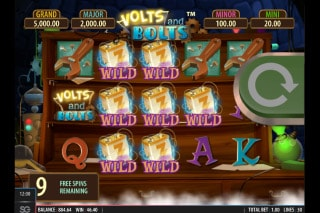 Volts And Bolts Mobile Slot Free Games