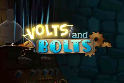 Volts And Bolts Mobile Slot Logo