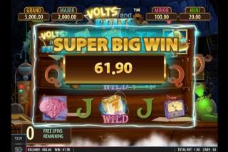 Volts And Bolts Mobile Slot Super Big Win