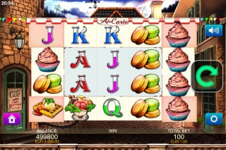 A La Carte Mobile Slot Game