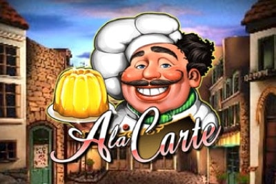 A La Carte Mobile Slot Logo