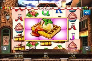 A La Carte Mobile Slot Mega Symbols