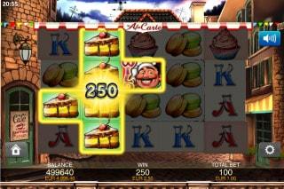 A La Carte Mobile Slot Win
