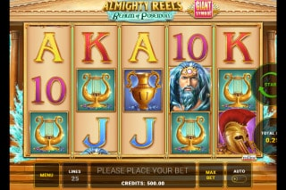 Almighty Reels Realm of Poseidon Mobile Slot Game