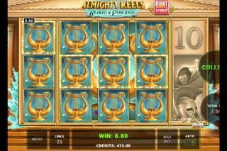 Almighty Reels Realm of Poseidon Slot Win