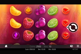 Berryburst Max Mobile Slot Game