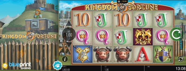 Blueprint Gaming Kingdom of Fortune Slot