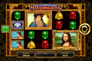 Da Vinci Diamonds Masterworks Slot Mega Symbols