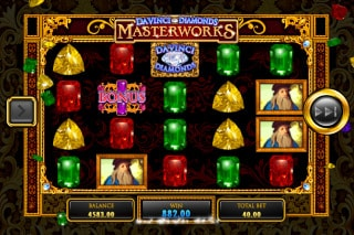 Da Vinci Diamonds Masterworks Mobile Slot Game