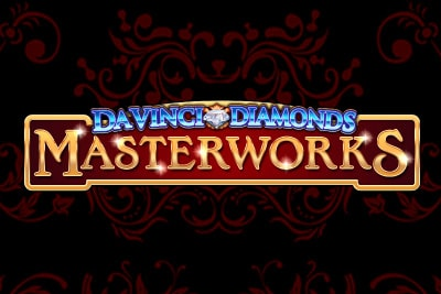 Da Vinci Diamonds Masterworks Mobile Slot Logo