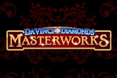 Da Vinci Diamonds Masterworks Mobile Slot Logo