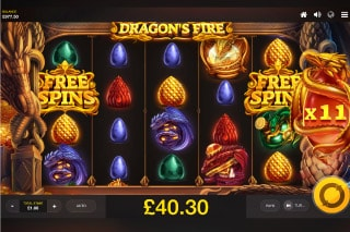 Dragons Fire Mobile Slot Free Spins