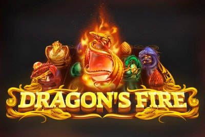 Dragons Fire Mobile Slot Logo