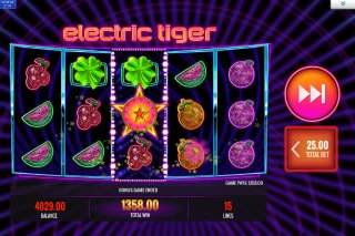 Electric Tiger Mobile Slot Game