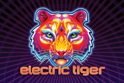 Electric Tiger Mobile Slot Logo