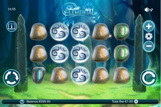Elemental Mobile Slot Game