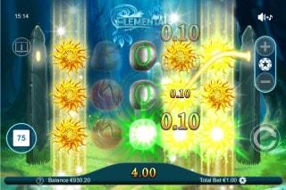 Elemental Mobile Slot Expanding Wild