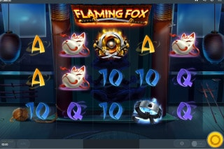 Flaming Fox Mobile Slot Game