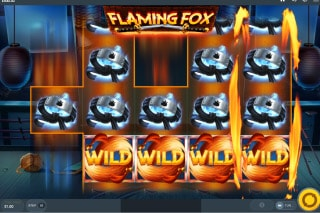 Flaming Fox Mobile Slot Feature