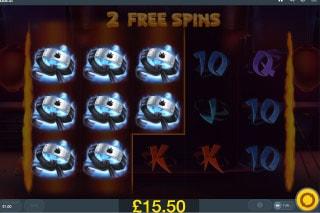 Flaming Fox Slot Free Spins