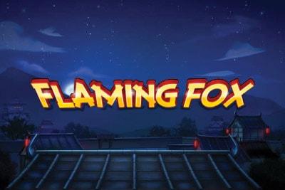 Flaming Fox Slot Logo