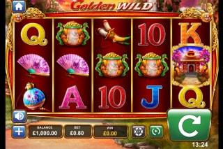 Golden Wild Mobile Slot Game