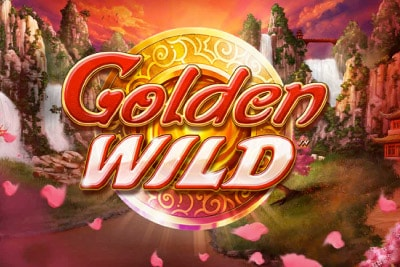 Golden Wild Mobile Slot Logo