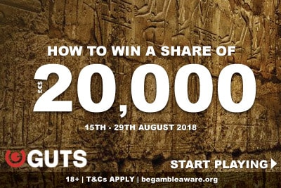 Win A Share of 20K In Guts Casino Promotion
