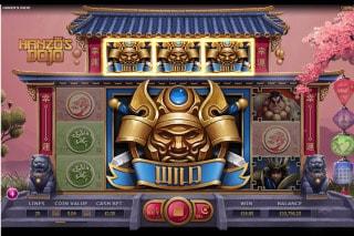 Hanzos Dojo Mobile Slot Mega Wild
